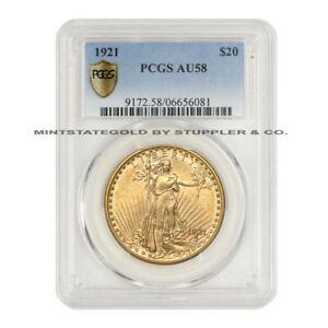 Click now to see the BUY IT NOW Price!  1921 $20 SAINT GAUDENS PCGS AU58 REGISTRY QUALITY GOLD DOUBLE EAGLE COIN