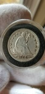 1853 O 25C ARROWS AND RAYS LIBERTY SEATED QUARTER