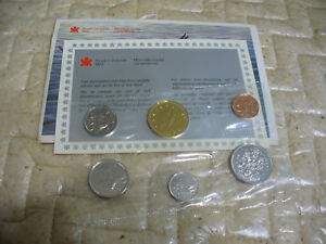 Click now to see the BUY IT NOW Price! 1990  CANADA   PROOF  LIKE SET  COINS  DOLLAR  HALF DOLLAR QUARTER  DIME NICKEL
