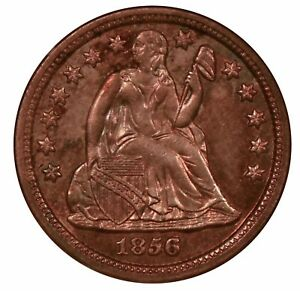 Click now to see the BUY IT NOW Price! 1856 O LIBERTY SEATED DIME STARS OBVERSE NGC MS65
