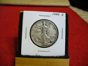 Click now to see the BUY IT NOW Price! 1944 S  WALKER  LIBERTY WALKING  HALF  DOLLAR      50 CENT PIECE   COIN  44S