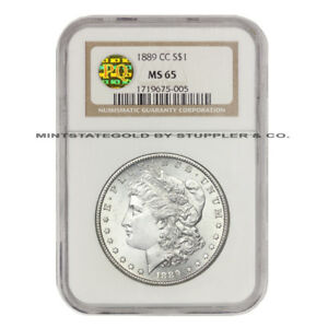Click now to see the BUY IT NOW Price! ULTRA  1889 CC $1 MORGAN SILVER DOLLAR GRADED NGC MS65 BLAST WHITE GEM PQ