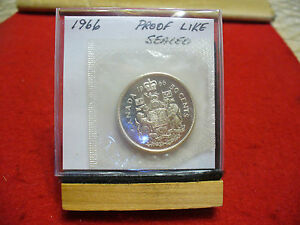 Click now to see the BUY IT NOW Price! 1966 CANADA SILVER HALF  DOLLAR TOP GRADE  50 CENT PIECE  66  PROOFLIKE  SEALED