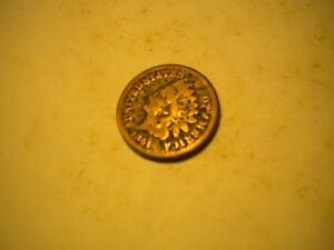 1861    INDIAN HEAD PENNY CENT