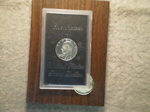 1972 S PROOF IKE SILVER DOLLAR/ BROWN PAK