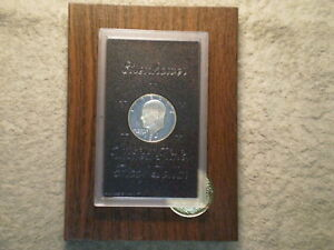 1971 S PROOF IKE SILVER DOLLAR/ BROWN PAK