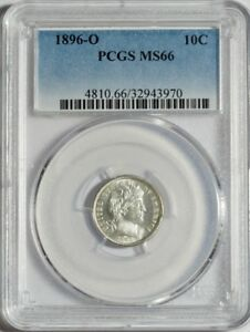 Click now to see the BUY IT NOW Price! 1896 O BARBER DIME PCGS MS66