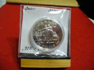 Click now to see the BUY IT NOW Price! 2001  CANADA  SILVER DOLLAR  COIN   HIGH   GRADE   01   SEALED         1$