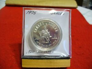 Click now to see the BUY IT NOW Price! 1975   CANADA  SILVER   ONE  DOLLAR  COIN   1$   HIGH  GRADE   75   SEALED