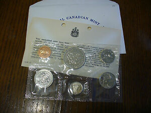Click now to see the BUY IT NOW Price! 1971  CANADA   PROOF  LIKE SET  COINS  DOLLAR  HALF DOLLAR QUARTER  DIME NICKEL