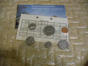 Click now to see the BUY IT NOW Price! 1975  CANADA   PROOF  LIKE SET  COINS  DOLLAR  HALF DOLLAR QUARTER  DIME NICKEL