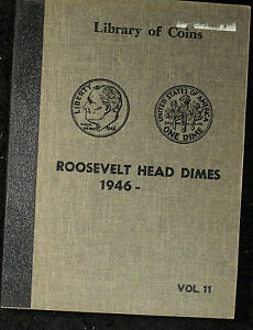 COMPLETE ROOSEVELT DIME SET   1946 1968   VF TO UNCIRCULATED COINS