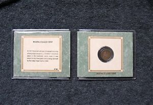 FLYING EAGLE CENT 1858   THE AMERICAN HISTORIC SOCIETY