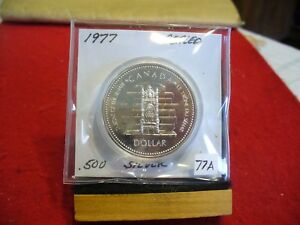 Click now to see the BUY IT NOW Price! 1977   CANADA  SILVER   ONE  DOLLAR  COIN   1$   HIGH  GRADE   77A   SEALED