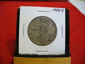 Click now to see the BUY IT NOW Price! 1935 S  WALKER  LIBERTY WALKING  HALF  DOLLAR      50 CENT PIECE   COIN  35S