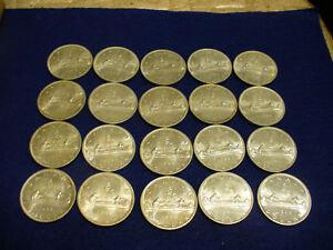 Click now to see the BUY IT NOW Price! LOT OF  20 1966   CANADA  SILVER   DOLLAR  COINS  SILVER  GOOD GRADES   NOT JUNK