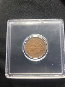 1872 1C BN INDIAN CENT BEAUTIFUL CONDITION