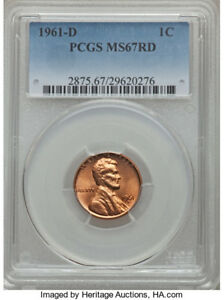 Click now to see the BUY IT NOW Price! 1C 1961 D LINCOLN CENT PCGS MS 67 BEST OFFER TAKES IT