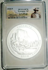 Click now to see the BUY IT NOW Price! 2010 P YOSEMITE 5 OZ. SILVER PCGS SP70 THEODORE ROOSEVELT SP 70