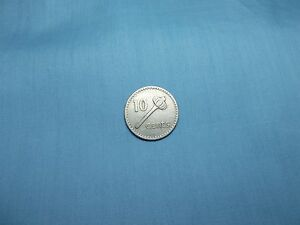 1969 FIJI 10 CENT COIN KM30  COMPOSITION IS COPPER/NICKEL