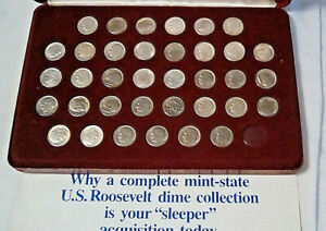Click now to see the BUY IT NOW Price! ROOSEVELT DIME SET FROM 1946 TO 2004 YEAR SET FROM 1946 TO 1981