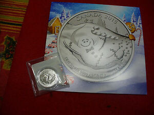 Click now to see the BUY IT NOW Price! 2015  20$ FOR 20$ .9999  FINE SILVER COIN  CANADA  GINGERBREAD  WITH CERTIFICATE