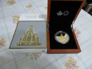 Click now to see the BUY IT NOW Price! 2016  RCM CANADA  RENEWED SILVER DOLLAR  LIBRARY OF PARLIAMENT GOLD PLATING