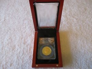 Click now to see the BUY IT NOW Price! 2014 KENNEDY 50TH ANNIVERSARY GOLD HALF DOLLAR ANACS PR 70