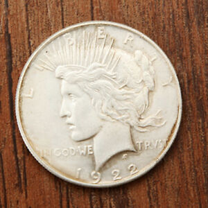 1922 PEACE LIBERTY COMMEMORATIVE COIN COLLECTIONS CRAFT