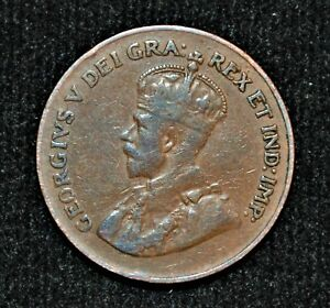 1923 CANADA ONE CENT   KEY DATE
