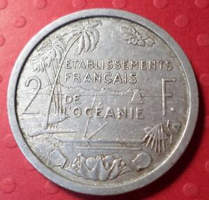 1949 FRENCH OVERSEAS TERRITORY 2 FRANC KM 2  A 052