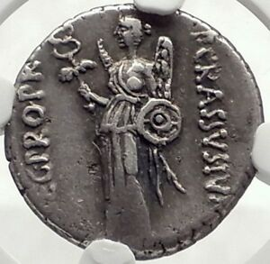 Click now to see the BUY IT NOW Price! METELLUS SCIPIO ENEMY JULIUS CAESAR 47 BC SILVER ROMAN COIN NGC CERTIFIED CH VF