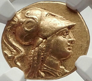 Click now to see the BUY IT NOW Price! ALEXANDER THE GREAT LIFETIME 323 BC  GOLD STATER SALAMIS CYPRUS CERTIFIED NGC AU