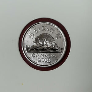 2018 CANADA 5 CENT SPECIMEN FROM SET