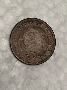 NO DATE TWO CENT PIECE