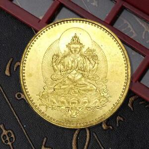 GOLD PLATED COIN BUDDHA COMMEMORATIVE COIN COLLECTION