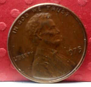 UNITED STATES:  1975 P LINCOLN MEMORIAL 1 CENT KM 201  A 503