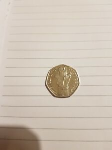 NEW BEATRIX POTTER THE TAILOR OF GLOUCESTERSHIRE  50P UNCIRCULATED 2018