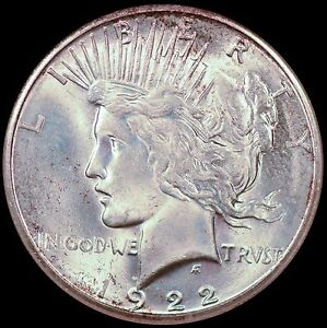 Click now to see the BUY IT NOW Price! 1922 S $1 PEACE SILVER DOLLAR NGC MS65   CHOICE QUALITY