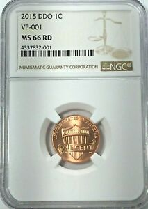 Click now to see the BUY IT NOW Price! 2015 1C LINCOLN SHIELD DDO VP 001 NGC MS66 RD