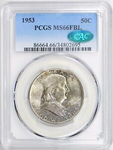 Click now to see the BUY IT NOW Price! 1953 50C MS66 FULL BELL LINES PCGS. CAC