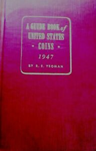 Click now to see the BUY IT NOW Price! 1947 FIRST YEAR FIRST PRINTING YEOMAN GUIDE BOOK OF US COINS RED BOOK