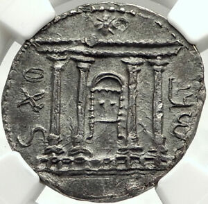 Click now to see the BUY IT NOW Price! BAR KOKHBA REVOLT SILVER SELA SHEKEL OF JERUSALEM 133AD NGC CHOICE AU EXTR.