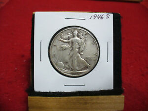 Click now to see the BUY IT NOW Price! 1946 S  WALKER  LIBERTY WALKING  HALF  DOLLAR      50 CENT PIECE   COIN  46S