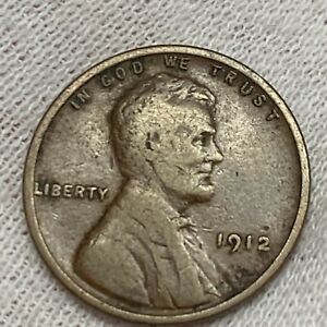 1912 P LINCOLN WHEAT CENT