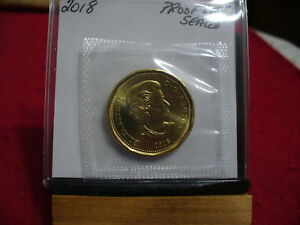 Click now to see the BUY IT NOW Price! 2018  CANADA  DOLLAR  COIN  LOONIE TOP GRADE  18   PROOF LIKE  SEALED