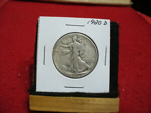 Click now to see the BUY IT NOW Price! 1920 D WALKER  LIBERTY WALKING  HALF  DOLLAR      50 CENT PIECE   COIN  20D  KEY