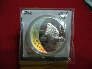 Click now to see the BUY IT NOW Price! 2010  VANCOUVER  OLYMPICS   SILVER   25$ COIN  CANADA   PROOF  CURLING