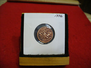 1976  CANADA  1  CENT COIN  PENNY  PROOF LIKE  HIGH  GRADE  SEALED  SEE PHOTOS