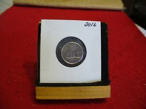 2016  CANADA 10 CENT COIN  DIME  PROOF LIKE  HIGH  GRADE  SEALED  SEE PHOTOS